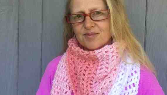 "Candy Shop Yarn ""Desert Winds Scarf"" Crochet Pattern"