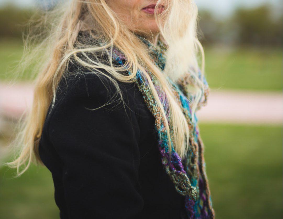 Moonlight Shimmer Shawl crochet pattern