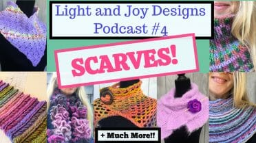 crochet podcast light and joy designs