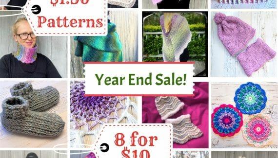 CROCHET PATTERN Year-End-Sale-2020